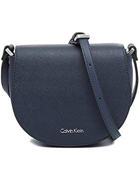 Calvin Klein Damen Marissa Saddle Bag Umhängetasche, 5x16x19 cm