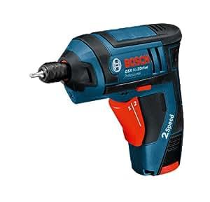 Bosch Professional Akku-Schrauber GSR Mx2Drive (1 x 1,3 Ah Akku, Ladegerät GAL 1215 CV, Drehmoment (hart/weich): 10/5 Nm, Schrauben-Ø max.: 5 mm, 3,6 Volt, Karton)