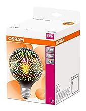 Osram LEDsglobeuni 3W/827 230V E27 Fs1 Lampada 3 W, Bianco, 1 Lamp