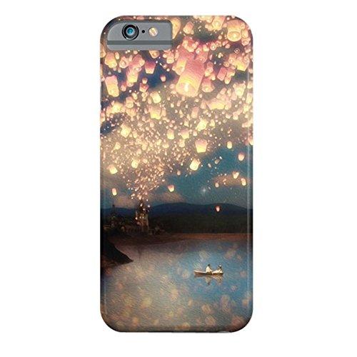 Cover iPhone 6s,TPU Gel Silicone Protettivo Skin Custodia Protettiva Shell Case Cover Per Apple iPhone 6 6S-Harry Potter WishLanterns