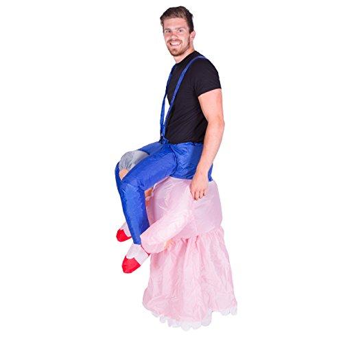 Imagen de disfraz de abuela hinchable para adultos alternativa