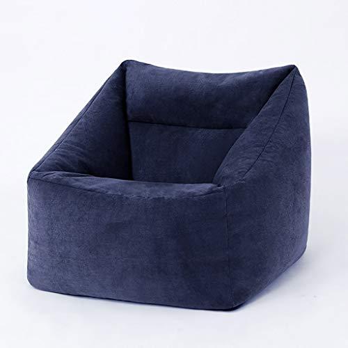 YXNN Kleine Faule Couch - Indoor Outdoor-Spiele Lounge Chair Soft Designer Sitzkissen Abbaubare EPS Gepolsterte Sitzsack Wohnzimmerdekoration 70x60x80cm (Farbe : Blau) (Osmanischen Outdoor-der Modernen)