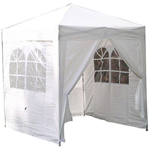 Airwave Pop-Up-Pavillon, 2 x 2 m, weiß
