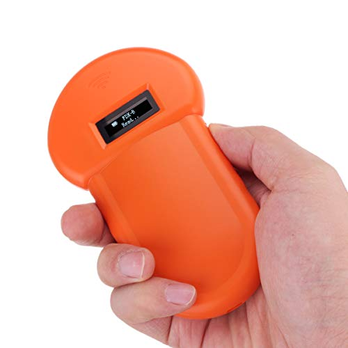 DyNamic Portable 134.2 Khz Animale Id Lettore Pet Microchip Riconoscimento Orecchio Tag Barcode Scanner