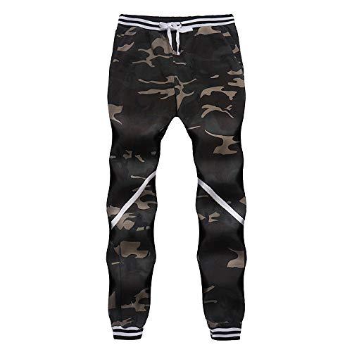 UFACE Mens Casual Jogger Camo Sportwear Baggy Harem Pants Hosen Hosen Jogginghose