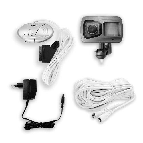 Preisvergleich Produktbild TV-TürGuard Wechselsprechanlage Überwachunskamera mit Bewegungsmelder