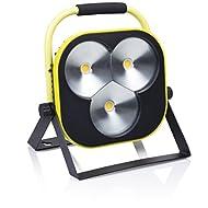 Smartwares 10.025.60–Lumière de travail LED extérieur 50W 3500lm lumière naturelle blanche clb1-c50y