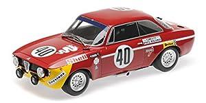 Alfa Romeo GTA 1300 Junior #40 Winners DIV.1 12h Paul Ricard 1971 - 1:18 - Minichamps