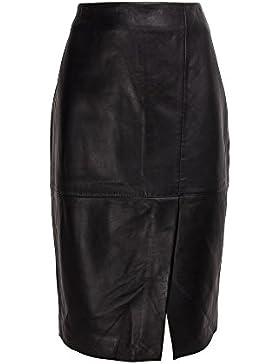 Zerimar Falda de Piel Mujer | Falda Mujer | Falda Larga Mujer | Falda Piel Larga