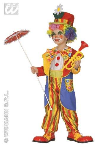 WIDMANN Piccolo Clown - Costume Bambini 4-5 Anni