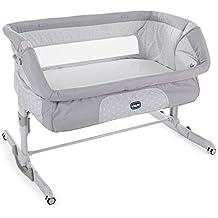 Chicco Next2Me Dream - Cuna de colecho con anclaje a cama, balancín y 11 alturas