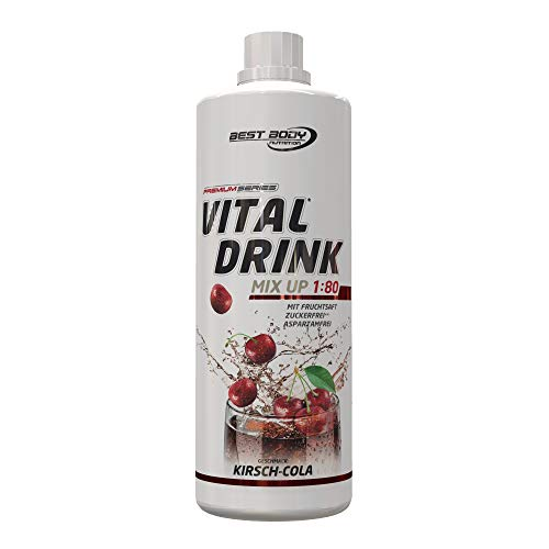 Best Body Nutrition – Low Carb Vital Drink, 1000 ml Flasche