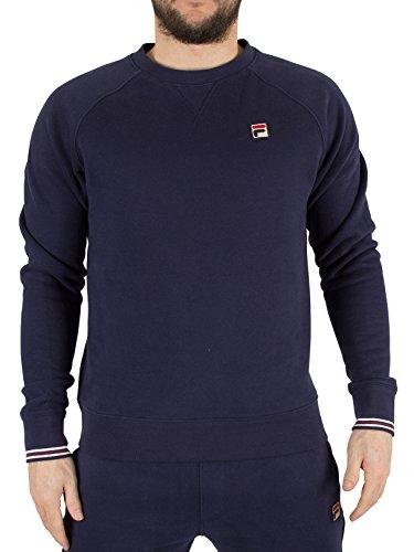 fila-vintage-homme-pozzi-logo-sweatshirt-bleu-medium