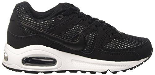 Nike Damen Women's Air Max Command Shoe Sneakers Schwarz (Black/White)