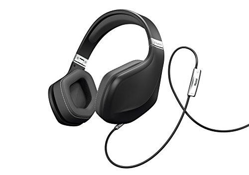 Magnat LZR 980 High Performance Over-Ear-Headphone | Designed by Pininfarina | Steuerung von Apple-/Android-Funktionen über Fernbedienung - deep black