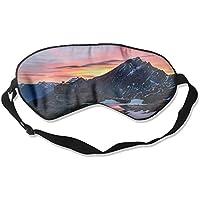 Eye Mask Eyeshade Mountains Sunset Scenery Sleeping Mask Blindfold Eyepatch Adjustable Head Strap preisvergleich bei billige-tabletten.eu