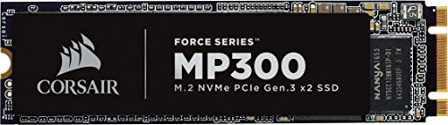 CORSAIR Force MP510 - Unidad de Estado sólido, SSD de 240 GB, NVMe PCIe Gen3 x4 M.2-SSD, hasta 3,100 MB/s