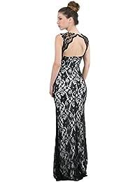 Sunshine - Longue robe en dentelle à motifs floraux - Femme