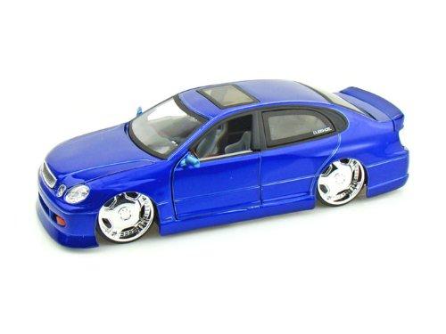 lexus-diecast-car-gs430-1-24-blue-jada-toys-diecast