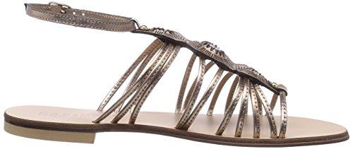 CAFèNOIR  Sandal, Sandales pour femme Or - Gold (377 PLATINO)