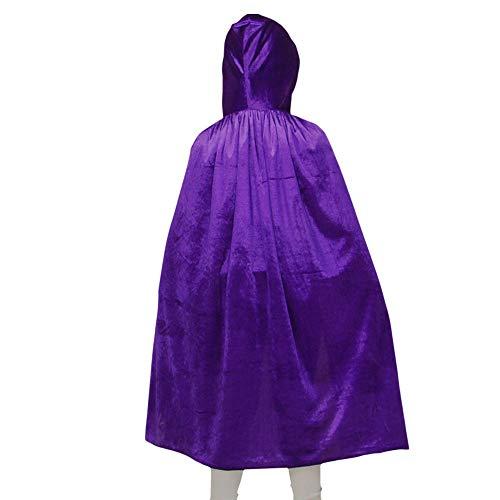Lila Samt Anzug Kostüm - CAGYMJ Cosplay Halloween Herrenbe Kleidung,Festival Mehrfache