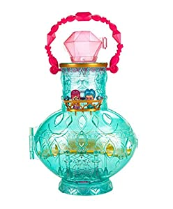 Shimmer and Shine - Botella portagenios, Accesorios muñecas, Multicolor (Mattel DTK58)