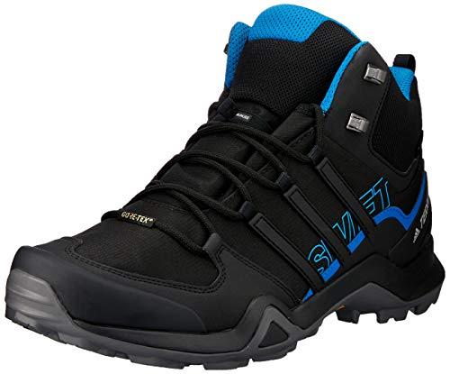 adidas Herren Terrex Swift R2 Mid GTX Trekking-& Wanderhalbschuhe, Schwarz (Negro 000), 44 EU - Original Schuhe Männer Adidas