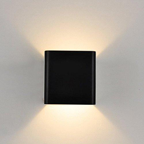 7W LED Wandleuchte Wandlampe Wandbeleuchtung Up und Down Design Warmweiß