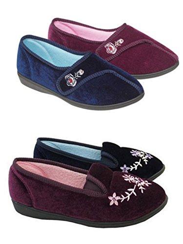 Foster Footwear , Sandales Compensées femme Dorothy: Navy