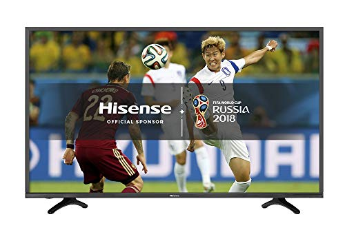 Hisense H49N5500UK 49inch 4K UHD Smart TV - Black - (2017 Model) (Certified Refurbished)