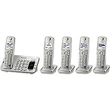 Panasonic KX-TGE275S DECT Identificador de llamadas Plata - Teléfono (Teléfono DECT, Terminal inalámbrico, Altavoz, Identificador de llamadas, Plata)