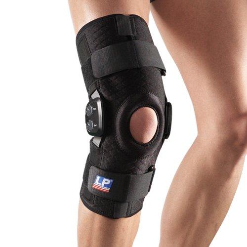 LP Support 793CA Extreme Knieorthese mit einstellbaren Gelenken, Größe S