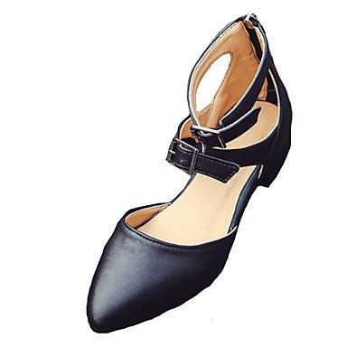 Eu37 Vestido Primavera Verão Us6 Fivela De Zormey 7 5 Baixo 5 Casual Uk4 Sapatos Sandálias Salto Clube 5 Zíper Femininas Pu Cn37 qEzYzTw
