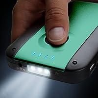 ReVIVE Solar ReStore XL Chargeur Solaire 4000mAh pour Smartphones, Tablettes, Mp3 - Avec Chargeur Universel USB & Panneau solaire à haut rendement