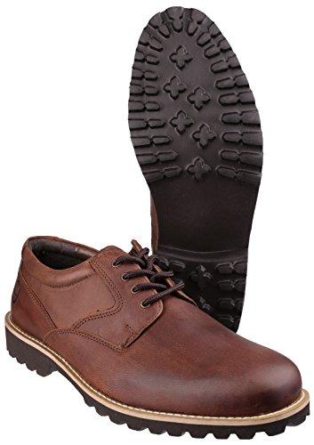 Cotswold Herren Tuffley Leder Schuhe mit Schnürung Braun