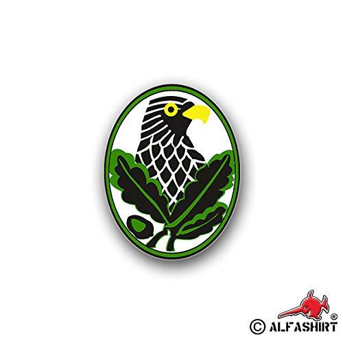 Aufkleber/Sticker Scharfschützenabzeichen Abzeichen Soldat 7x6cm A747 -