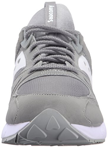 Saucony Grid 9000, Sneaker a Collo Basso Uomo Grigio (Grey/White)