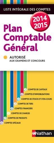 Plan comptable général 2014/2015