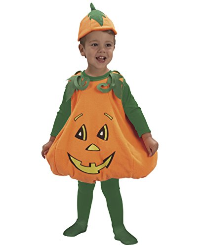 Ciao - Baby Zucca Costume Halloween, 3-4 Anni