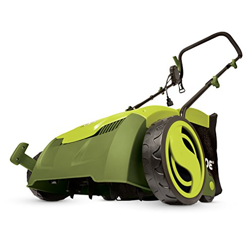 "Sun Joe UK-AJ801E 12 Amp 13"" Electric Scarifier Plus Lawn Dethatcher with Collection Bag"