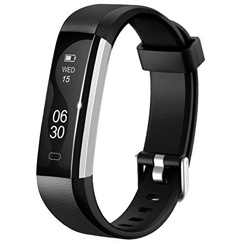 Herzfrequenzmesser schlank HR Plus Wasserdichte Fitness Tracker Bluetooth Schrittz?hler Smart Armband