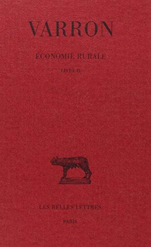Economie rurale : Livre II