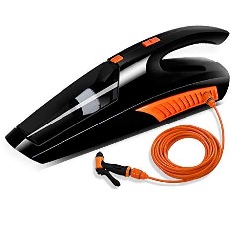 Handstaubsauger, 12V 85W starker zyklonischer Saug-tragbarer Wieder aufladbarer Handvakuum, Nasses trockenes Vakuum für Hauptauto, Staubsaugen und Waschmaschine (Tragbarer Nass-trocken-vakuum)
