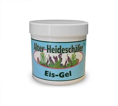Ice-Gel with Peppermint, Campher & Menthol for Headaches, Stiff Neck, Joints, Muscles - Cooling & Soothing- Large 250ml Tub