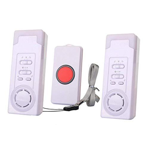 Home Sicherheit Wireless Ältere Patienten Warnung Alarm System Kit, ältere Monitor Klingeln, Notfall pagern und Beepers, 2in 1von iadong -