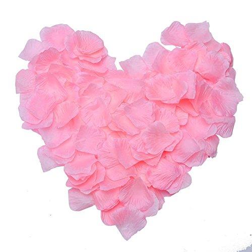 500PCS Petali di Rosa in Seta per Feste Matrimonio
