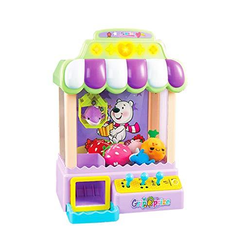 XUMING Traditionelle Arcade Klaue Maschine USB + Batterie Candy Collector Puppe Grab Maschine Desktop Neuheit Spielzeug Familie Interaktive Kinder Action und Reaktionsspiel - Tabletop-automaten