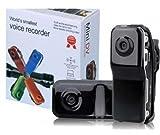 Mini caméra sport DV DVR MD80 Mini enregistreur vidéo caméscope/caméra espion cachée Webcam- Noir