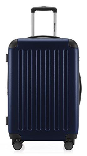 HAUPTSTADTKOFFER - Spree - 2er Koffer-Set Hartschale matt, TSA, 65 cm + 55cm, 82 Liter + 49 Liter, Schwarz Dunkelblau
