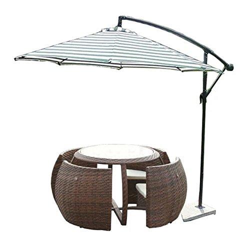 Imitazione bambù - rattan vimini set divano / suite divano / divano letto / divano (Outdoor Glider Cuscini)